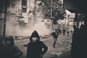 Riot in Hebron by vastarantakettu