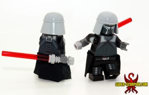 Lord Starkiller LEGO Minifig by Saber-Scorpion