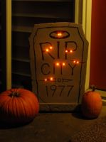 RIP City Tombstone by RobKramer