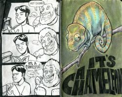 It's a chameleon by micka-angelo