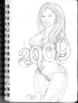Happy2009 WIP by xdoodle