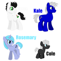 OC's by jazzlovessilkies