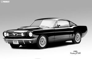 mustang gt 500 by privect