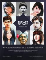 The Art of Face Flyer by Hendrugs46