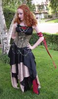 LoJ Masquerade 2004 Costume by kissedbyfyre
