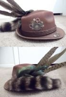 Steampunk hat minus skull by OTMarch