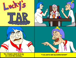 Lucky's Tar by CosbyDaf