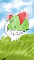Weeping Little Ralts. by ElusiveCake