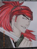 Abarai Renji by Say0Hitsugaya