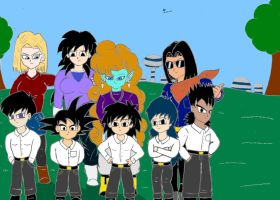 One big family by Vegito65