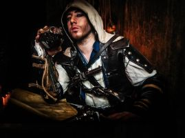 AC IV -  Drinks are on me! by CreedCosplay
