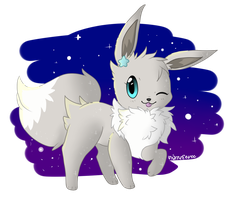 Starry the Eevee by StarryVaporeon