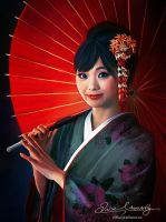 Geisha Girl by Amro0