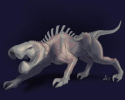 20Creatures - Day 8 - WIP by Nicksketch