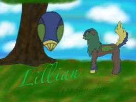 Lillian- Eagle Tribe Uunca by sprite-light