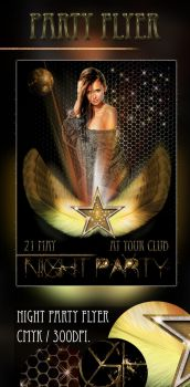 Party Flyer , FREE PSD FILES . by SameehShkeer