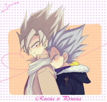 Russia x Prussia DB by gokuxvegetaforever