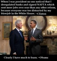 Clinton Teaches Obama by Valendale