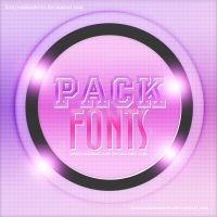 Pack De Fonts ZIP by Loveyoulikealoves