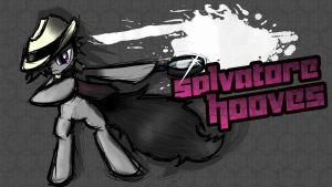Salvatore Hooves [Splash Art] by rorycon