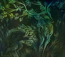 Forest's whispers by TrollGirl