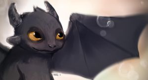 Toothless by S1ghtly