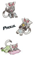 G1 Prowl Kitty by CelestialTentails