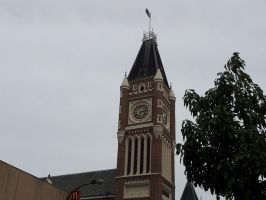 Church Clock Tower by Roses-and-Feathers