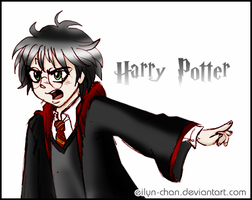 Harry Potter witch style color by Eilyn-Chan