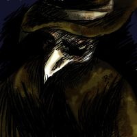 Plague Doctor  -Digital Sketch by VampirateMace
