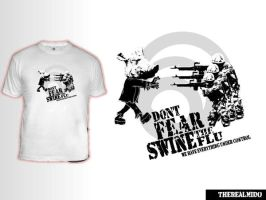 Swine Flu Shirt by TheRealMido