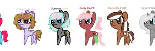 My Mane 6 by YummyCupcake436