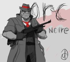 Noir Orc  by UserAnonymus