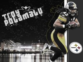 Troy Polamalu by Dodger510