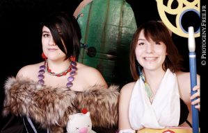 Final Fantasy X- Lulu Yuna and the Pampa by Maf-cosplay