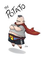 superhero JAC - The Potato by shoze