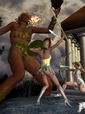 Mythology:  Gaea's Uprising