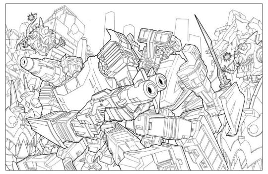 TF: Sideswipe and Sunstreaker by Bogata
