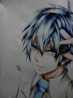 Kuroko Watercolor by Painter-One