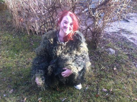 Ghillie Suit 2 by Bloodsgirl12