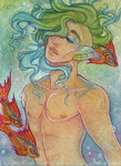 Serene ACEO by Anoki-Doll