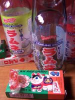 Ramune Rice Cat by coopyey
