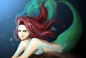 Young Mermaid by JorgeGtV