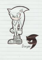 Dorgan the Hedgehog Terminado by LucasTheBlackFox