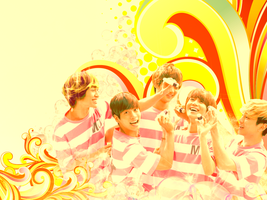 SHINee Wallpaper by Captain-Wiener
