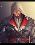 Ezio Auditore Da Firenze (Brotherhood) by SumireHaikuXNA
