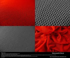 Fabric Texture 3 - Netting by Melyssah6-Stock