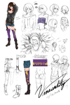 Vivar - street style costume reference by Vinsuality