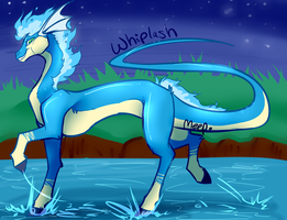Whiplash the Ponyta Dratini by SushiMeep