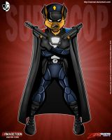 Zooper_BadGuys_SuperCop by XAMOEL